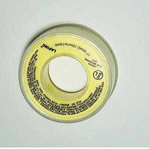 yellow teflon tape