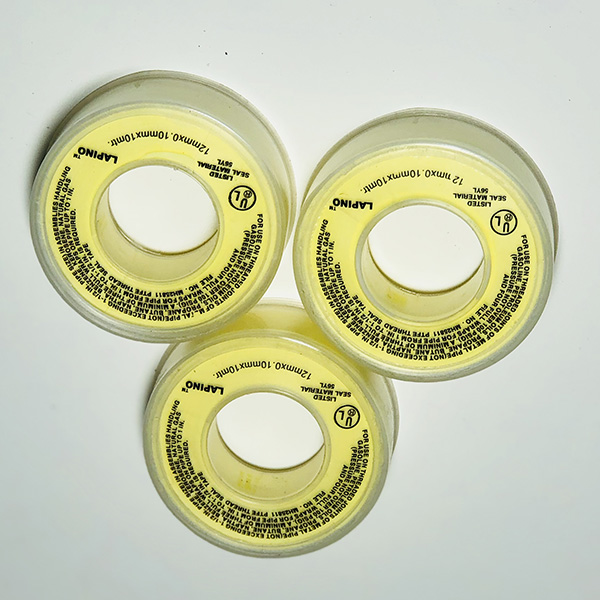 OEM Manufacturer Silver Teflon Tape -